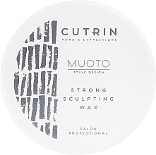Парфюмерия и Козметика Моделиращ восък за коса - Cutrin Muoto Strong Sculpting Wax