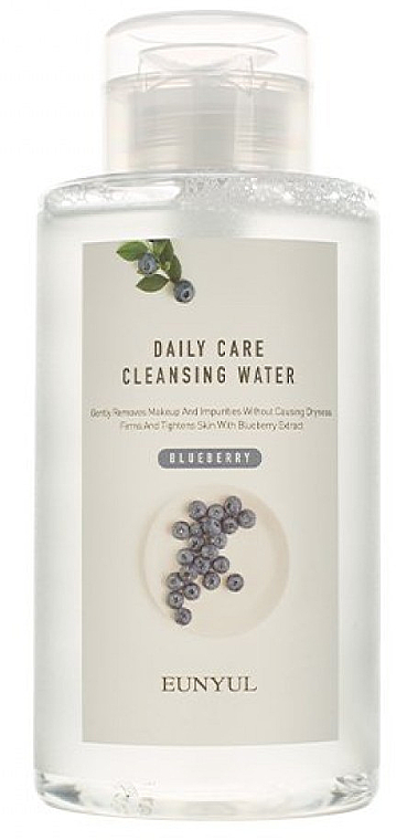 Мицеларна вода с екстракт от боровинка - Eunyul Daily Care Cleansing Water Blue Berry — снимка N1