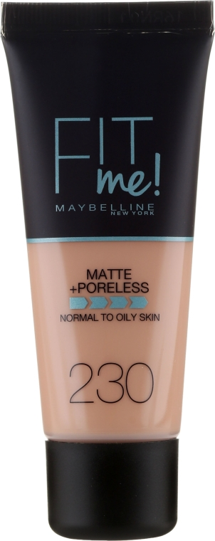 Фон дьо тен - Maybelline Fit Me Matte Poreless Foundation