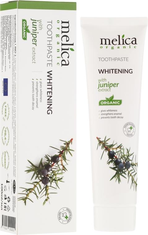Паста за зъби с екстракт от хвойна - Melica Organic