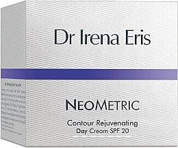 Парфюмерия и Козметика Дневен крем за лице - Dr Irena Eris Neometric Contour Rejuvenating Day Cream SPF 20