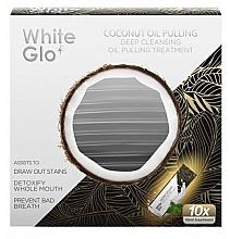 Парфюмерия и Козметика Средство за изплакване на уста - White Glo Coconut Oil Pulling