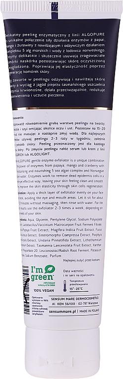 Деликатен ензимен пилинг за лице - Sensum Mare Algopure Gentle Enzyme Facial Exfoliator — снимка N2