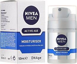 Парфюми, Парфюмерия, козметика Крем против стареене - Nivea For Men Aktive Age Moisturiser Cream
