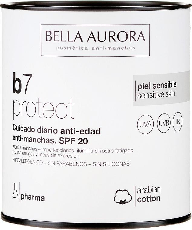 Изсветляващ крем за лице - Bella Aurora B7 Cream Clarifying Blush