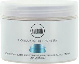 Парфюмерия и Козметика Масло за тяло - Naturativ Rich Body Butter Home Spa