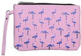 """Парфюми, Парфюмерия, козметика Козметична чанта """"Фламинго"""", средна - Inter-Vion"""