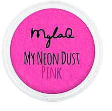 Парфюмерия и Козметика Пудра за нокти - MylaQ My Neon Dust