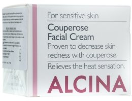Парфюми, Парфюмерия, козметика Крем срещу купероза за лице - Alcina S Couperose Facial Cream