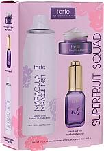 Парфюмерия и Козметика Комплект - Tarte Cosmetics Superfruit Squad (спрей/30ml + масло/15ml + околоочен крем/5g)