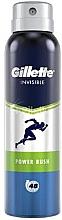 Парфюмерия и Козметика Спрей дезодорант-антиперспирант - Gillette Power Rush Invisible Antiperpirant Spray