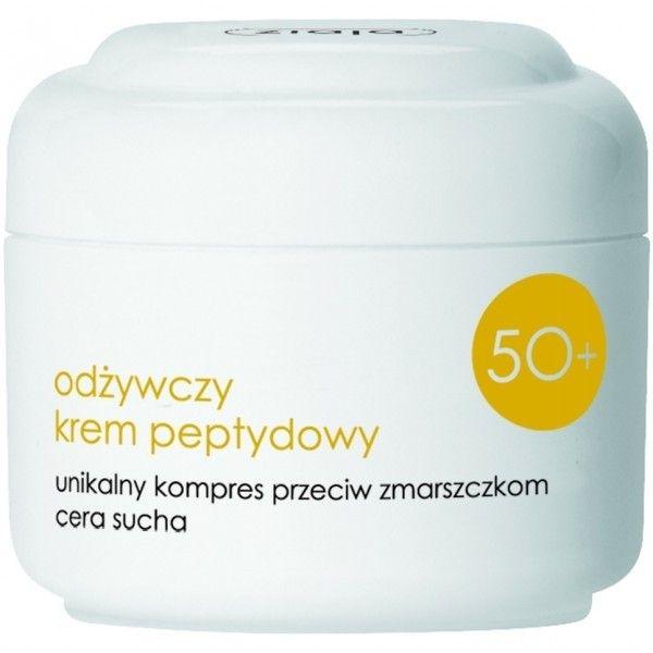 Подхранващ пептиден крем за суха кожа 50+ - Ziaja Face Cream