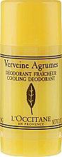Парфюмерия и Козметика Освежаващ стик дезодорант с върбинка - L'Occitane Verbena Deodorant Stick
