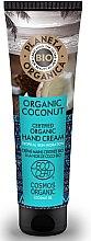 Парфюмерия и Козметика Овлажняващ крем за ръце - Planeta Organica Organic Coconut Hand Cream