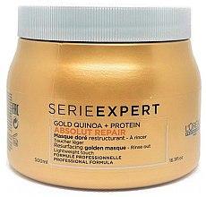 Парфюми, Парфюмерия, козметика Маска за изтощена коса - L'Oreal Professionnel Absolut Repair Gold Quinoa +Protein Mask