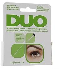 Парфюмерия и Козметика Лепило с витамини за изкуствени мигли - Duo Brush-On Lash Adhesive