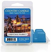Парфюмерия и Козметика Ароматен восък - Country Candle Christmas Market Wax Melts