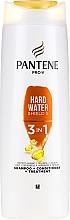 Парфюмерия и Козметика Шампоан-балсам 2в1 за коса - Pantene Pro-V Hard Wate Shield 5 3in1 Shampoo