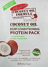 Парфюмерия и Козметика Протеинова маска за коса с кокосово масло - Palmer's Coconut Oil Formula Deep Conditioning Protein Pack