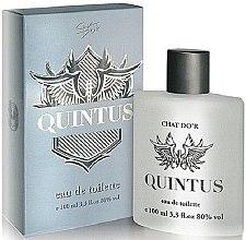 Парфюмерия и Козметика Chat D'or Quintus - Тоалетна вода
