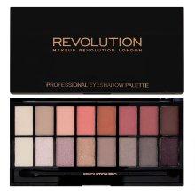 Парфюмерия и Козметика Палитра сенки за очи, 16 цвята - Makeup Revolution Profesional Eyeshadow Palette
