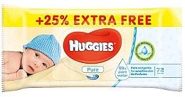 Парфюми, Парфюмерия, козметика Детски мокри кърпички, 72 бр - Huggies
