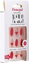 Парфюмерия и Козметика Комплект изкуствени нокти с лепило, 3067 - Donegal Express Your Beauty