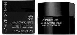 Възстановяващ крем за лице - Shiseido Men Skin Empowering Cream — снимка N2