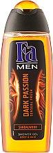 Парфюми, Парфюмерия, козметика Душ гел - Fa Men Dark Passion Shower Gel