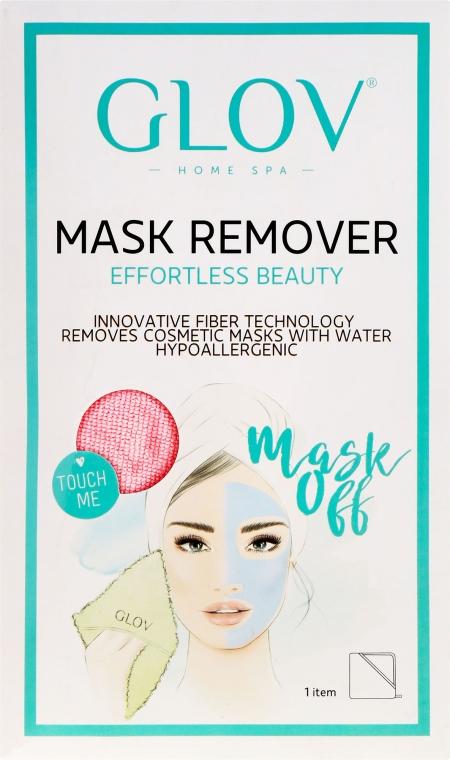 Ръкавици за отстраняване на маска , розови - Glov Mask Remover