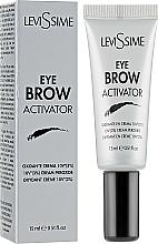 Парфюмерия и Козметика Окислител за вежди 3% - LeviSsime Eye Brow Activator