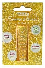 Парфюми, Парфюмерия, козметика Балсам за устни с аромат на ванилия - Namaki