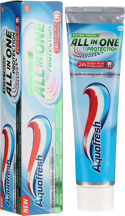 Паста за зъби - Aquafresh All In One Protection Extra Fresh