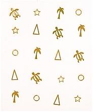 Парфюмерия и Козметика Декоративни стикери за маникюр - Peggy Sage Decorative Metallic Nail Stickers