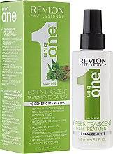 Парфюмерия и Козметика Маска-спрей за коса - Revlon Professional Uniq One Green Tea Scent Hair Treatment