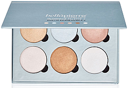 Парфюми, Парфюмерия, козметика Палитра за лице - Bellapierre Cosmetics Glowing Palette 2