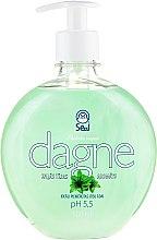Парфюмерия и Козметика Течен сапун с аромат на зелен чай - Seal Cosmetics Dagne Liquid Soap