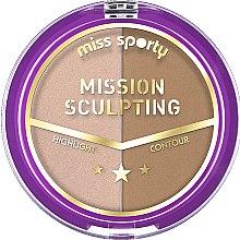 Парфюми, Парфюмерия, козметика Палитра за контуриране - Miss Sporty Mission Sculpting