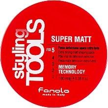 Парфюмерия и Козметика Матова паста за коса с екстра силна фиксация - Fanola Tools Super Matt Paste