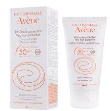 Парфюмерия и Козметика Слънцезащитен минерален крем - Avene Solaires Mineral Cream SPF 50+