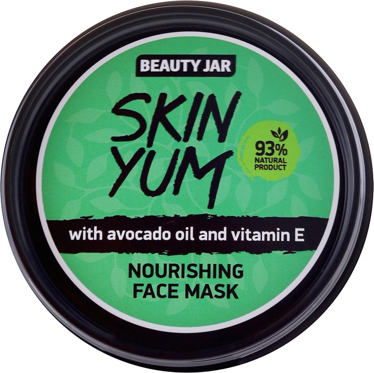 Подхранваща маска за лице - Beauty Jar Skin Yum Nourishing Face Mask