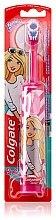 Парфюми, Парфюмерия, козметика Детска електрическа четка за зъби, супер мека, Barbie, розово-бяла - Colgate Electric Motion Barbie