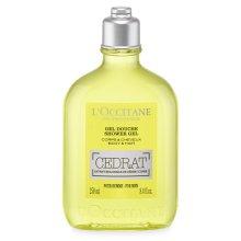 Парфюми, Парфюмерия, козметика Душ гел - L'Occitane Cedrat Shower Gel