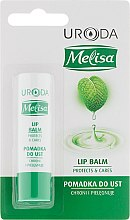 Парфюмерия и Козметика Балсам за устни - Uroda Melisa Protective Lip Balm
