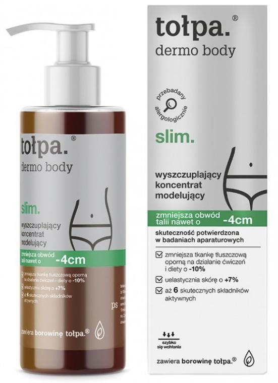 Моделиращ концентрат за тяло - Tolpa Dermo Body Slim Concentrate -4cm