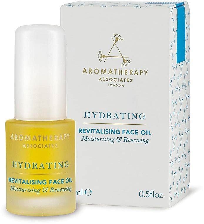 Овлажняващо и възстановяващо масло за лице - Aromatherapy Associates Hydrating Revitalising Face Oil — снимка N1