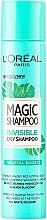 Парфюмерия и Козметика Сух шампоан за коса - L'Oreal Paris Magic Shampoo Invisible Dry Shampoo Vegetal Boost