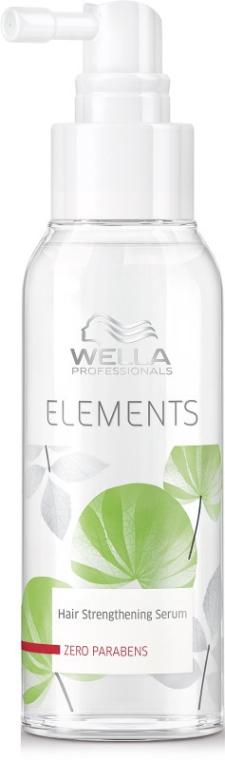 Обновяващ серум с естествени екстракти - Wella Professionals Elements Strengthening Serum — снимка N1