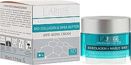 Парфюми, Парфюмерия, козметика Крем против бръчки с колаген и масло от карите 55+ - Ava Laboratorium L'Arisse 5D Anti-Wrinkle Cream Bio Collagen + Shea Butter
