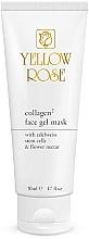 Парфюмерия и Козметика Гел-маска за лице с колаген - Yellow Rose Collagen2 Gel Mask